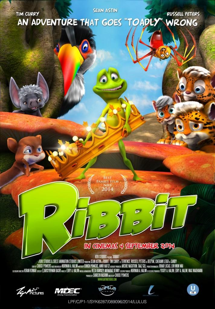 2014年优秀动画片推荐:马来西亚动画片《Ribbit》