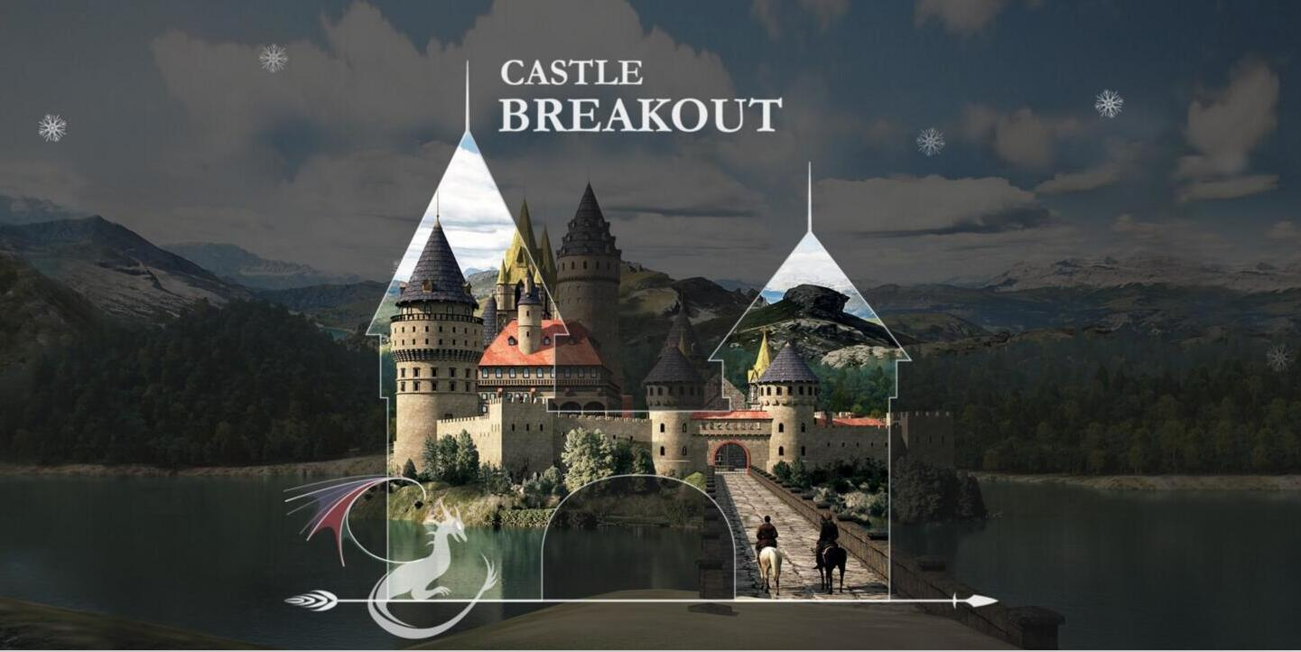 """瑞云渲染《城堡突围》,""""逃亡游戏""""爱好者必玩,等你来免费下载!"""
