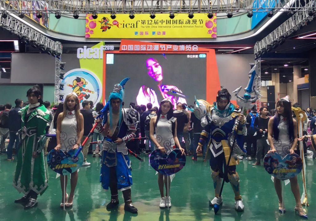瑞云亮相国际动漫节,其渲染VR游戏作品吸引众人眼球