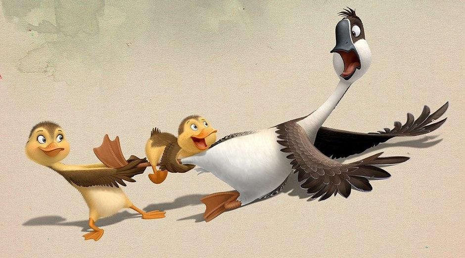 瑞云独家渲染的《妈妈咪鸭》创国产动画电影海外单国销售额最高纪录