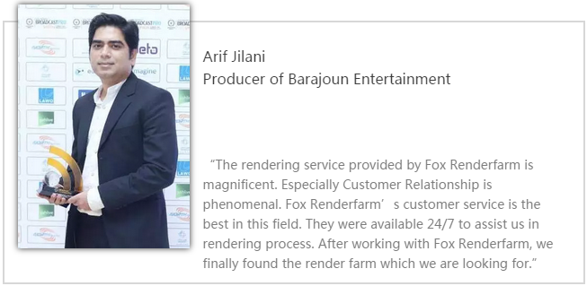 Barajoun Entertainment制作人Arif Jilani-Renderbus云渲染农场