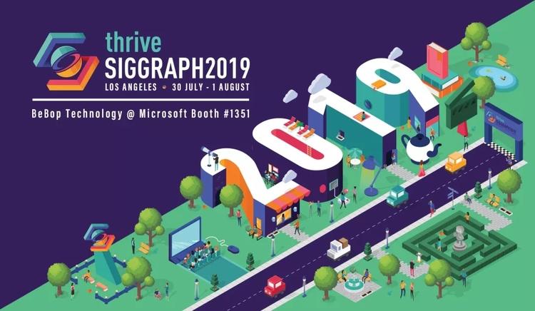 瑞云渲染1049展位|SIGGRAPH 2019 五大热点抢先看