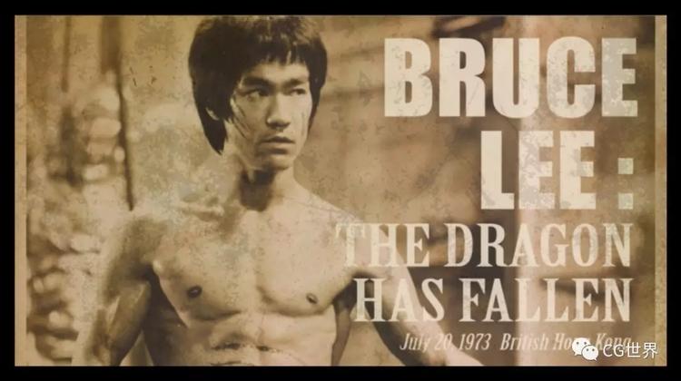 新加坡艺术家个人作品《龙永不灭》致敬李小龙